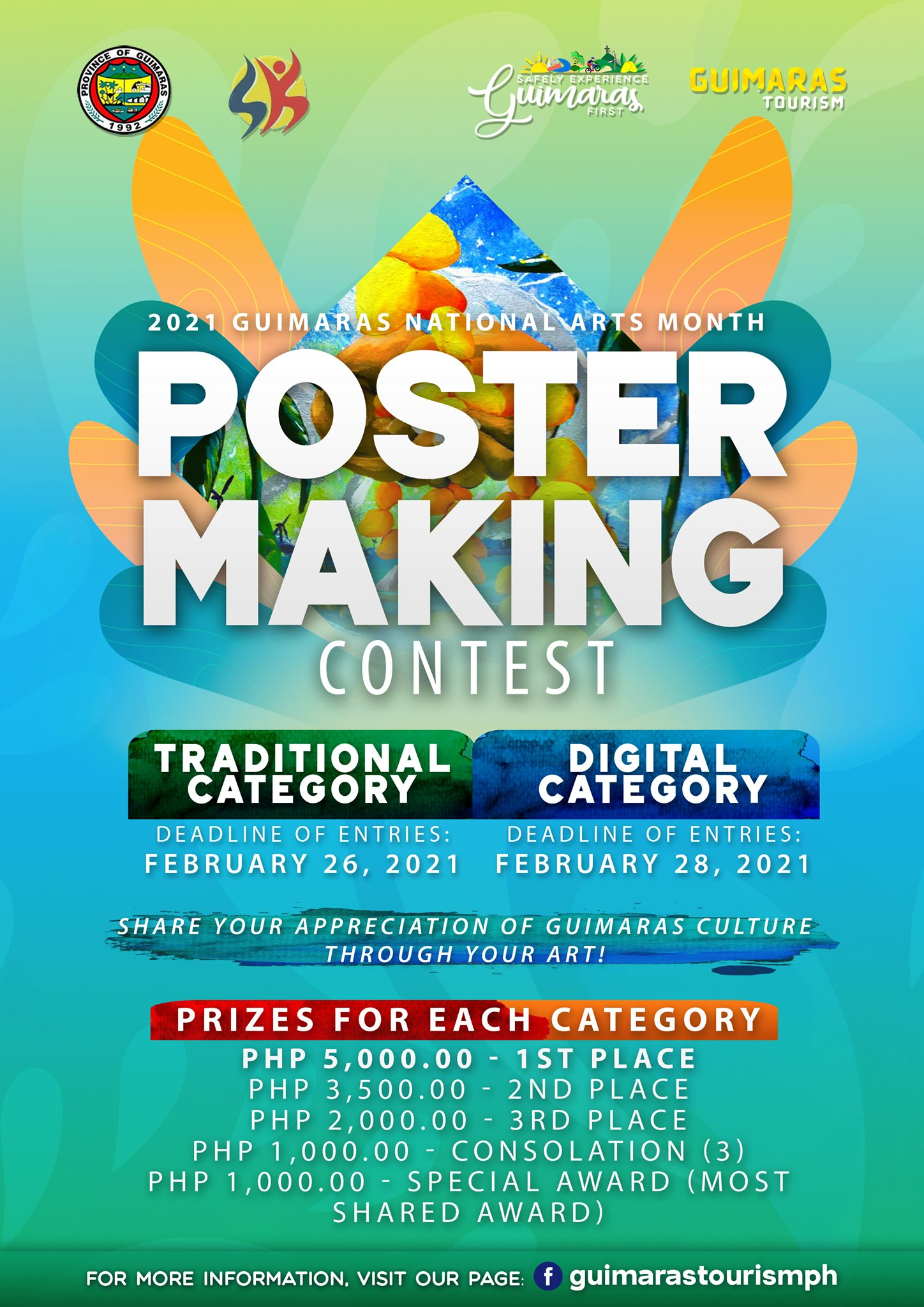 National Arts Month Poster Making Contest 2021